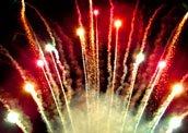 Feuerwerk Greiz Vogtland Betriebsfest