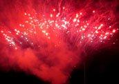 Feuerwerk Hermsdorf Thüringen Betriebsfest