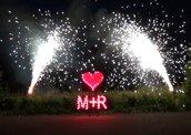 Feuerwerk, Hochzeitsfeuerwerk Schindelbruch Stolberg Harz