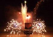 Feuerwerk Thüringen, Hochzeitsfeuerwerk, Musikfeuerwerk in Bürgel bei Jena