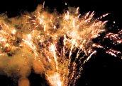 Feuerwerk Seefest Thüringen Weissensee Sömmerda