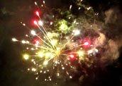 Feuerwerk Hochzeitsfeuerwerk Plauen Oelsnitz Vogtland Sachsen