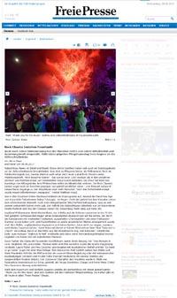 Feuerwerk Göltzschtalbrücke Rock Musikfeuerwerk