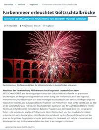 Feuerwerk an der Göltzschtalbrücke im Vogtland