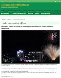 Feuerwerk Zeulenroda Seehotel